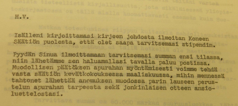 Hyvaksymiskirje1960