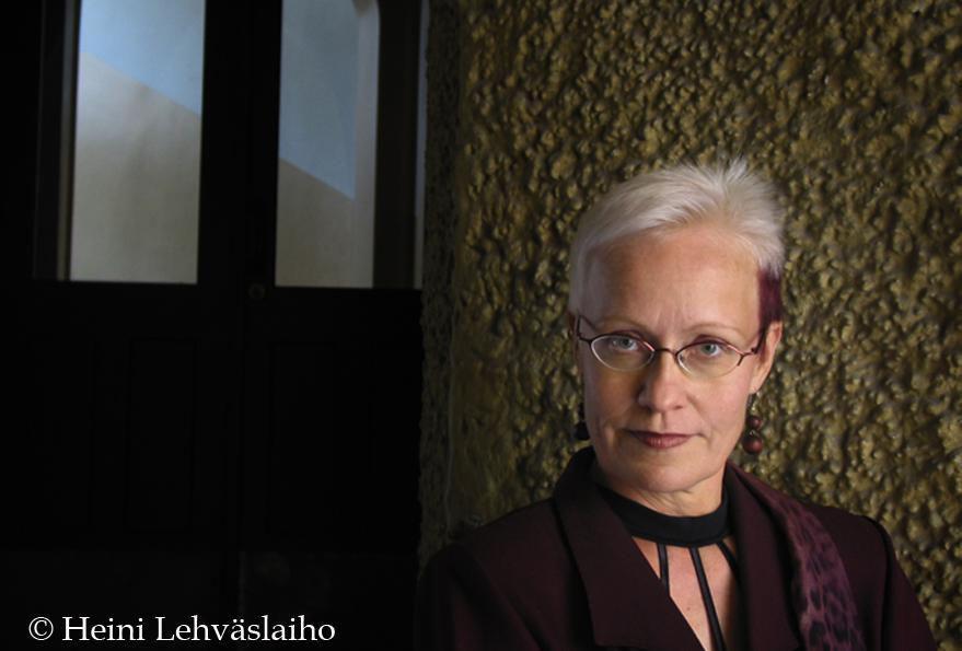 Johanna Sinisalo Photo: Heini Lehväslaiho